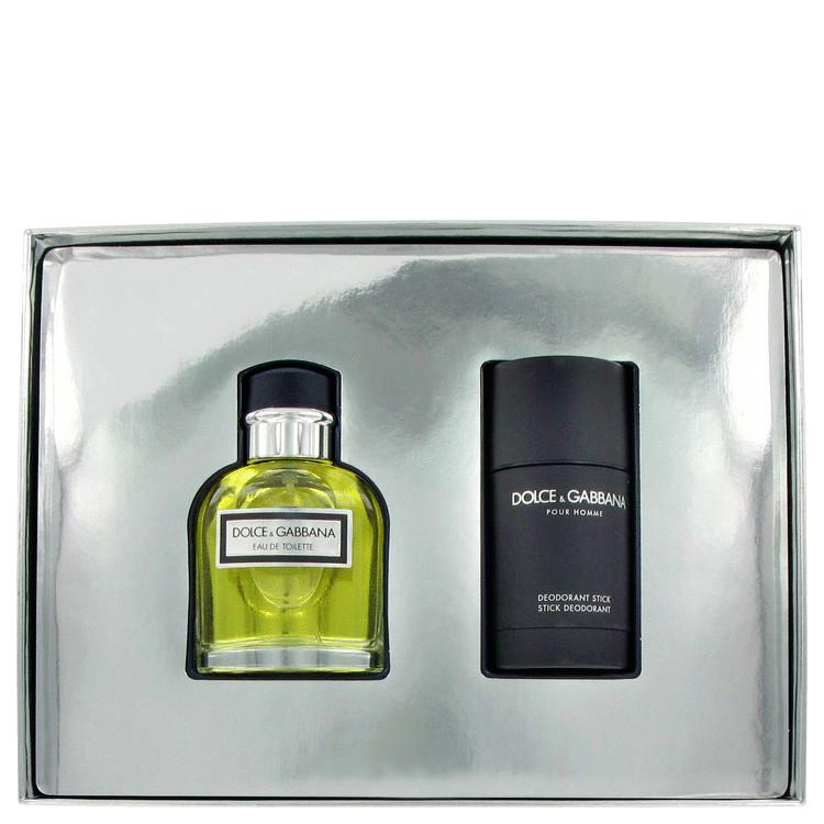 Dolce & Gabbana Gift Set -- Gift Set - 2.5 oz Eau De Toilette Spray + 2.5 oz Deodorant Stick for Men