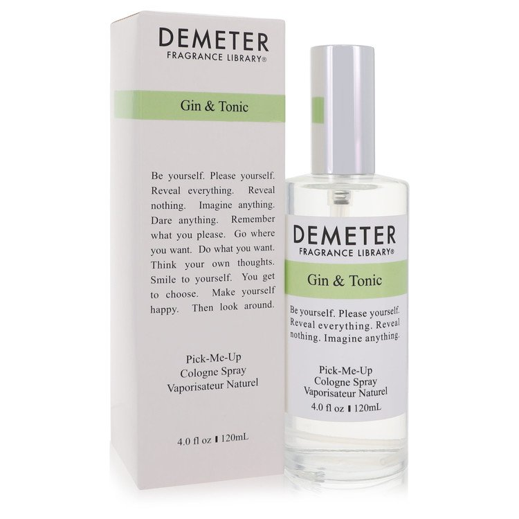 Gin & Tonic By Demeter For Women. Pick-me Up Cologne Spray 4.0 Oz