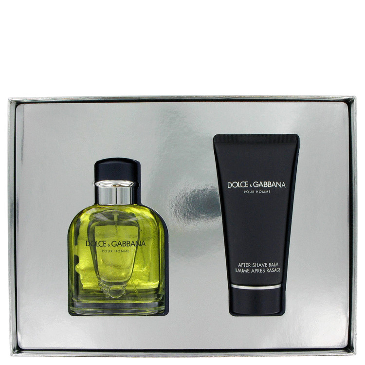 Dolce & Gabbana Gift Set -- Gift Set - 4.2 oz Eau De Toilette Spray + 3.4 oz After Shave Balm for Men