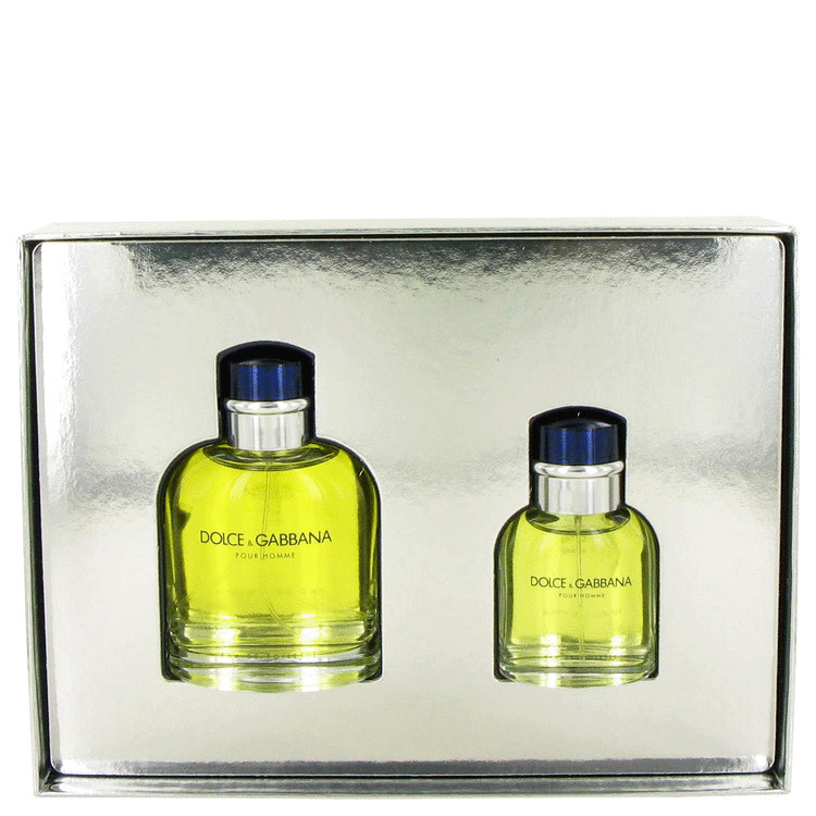 Dolce & Gabbana Gift Set -- Gift Set - 4.2 oz Eau De Toilette Spray + 1.3 oz Eau De Toilette Spray for Men