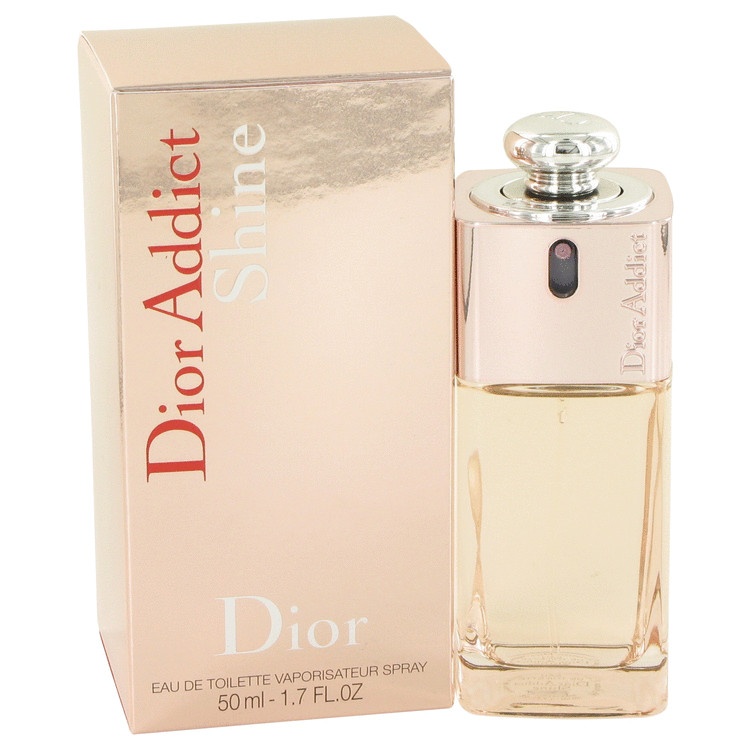 Dior Addict Shine Perfume by Christian Dior 1.7 oz EDT Spay for Women