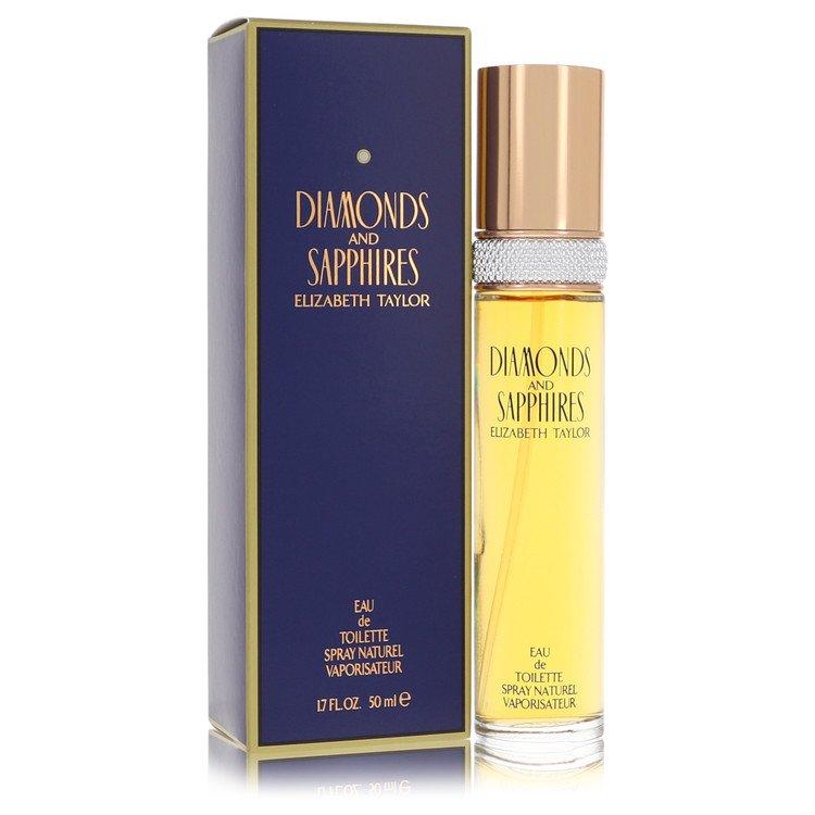 DIAMONDS & SAPHIRES by Elizabeth Taylor for Women Eau De Toilette Spray 1.7 oz