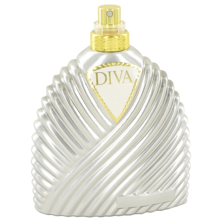 Diva Perfume 100 ml Eau De Parfum Spray (Deluxe Tester Silver Bottle) for Women