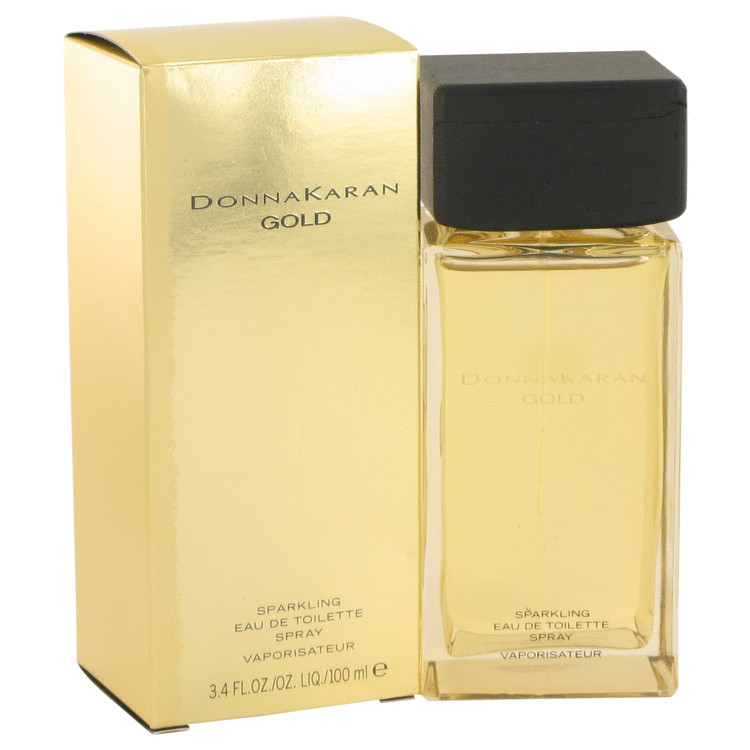 Donna Karan Gold Sparkling Perfume 100 ml EDT Spay for Women