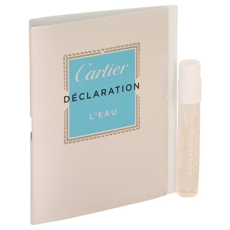 Declaration L'eau by Cartier for Men Vial (sample) .05 oz