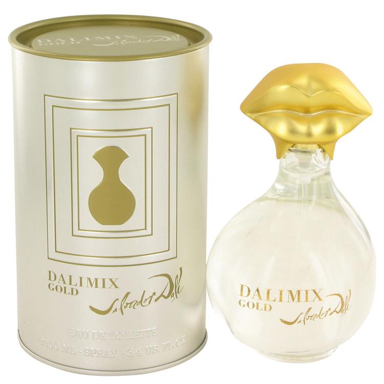 Dalimix Gold Perfume 100 ml Eau De Tiolette Spray for Women