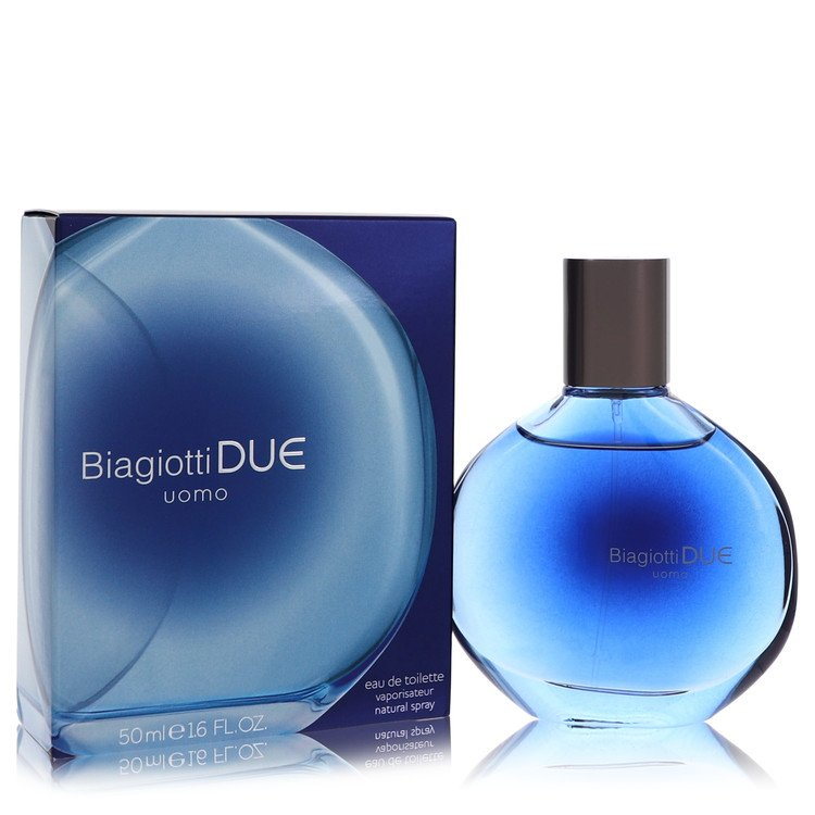Due Cologne by Laura Biagiotti 1.6 oz EDT Spray for Men