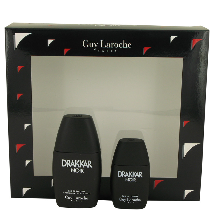 Drakkar Noir Gift Set -- Gift Set - 1 oz Eau De Toilette Spray + .5 oz Mini EDT for Men
