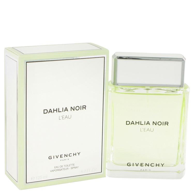 Dahlia Noir L'eau by Givenchy for Women Eau De Toilette Spray 4.2 oz