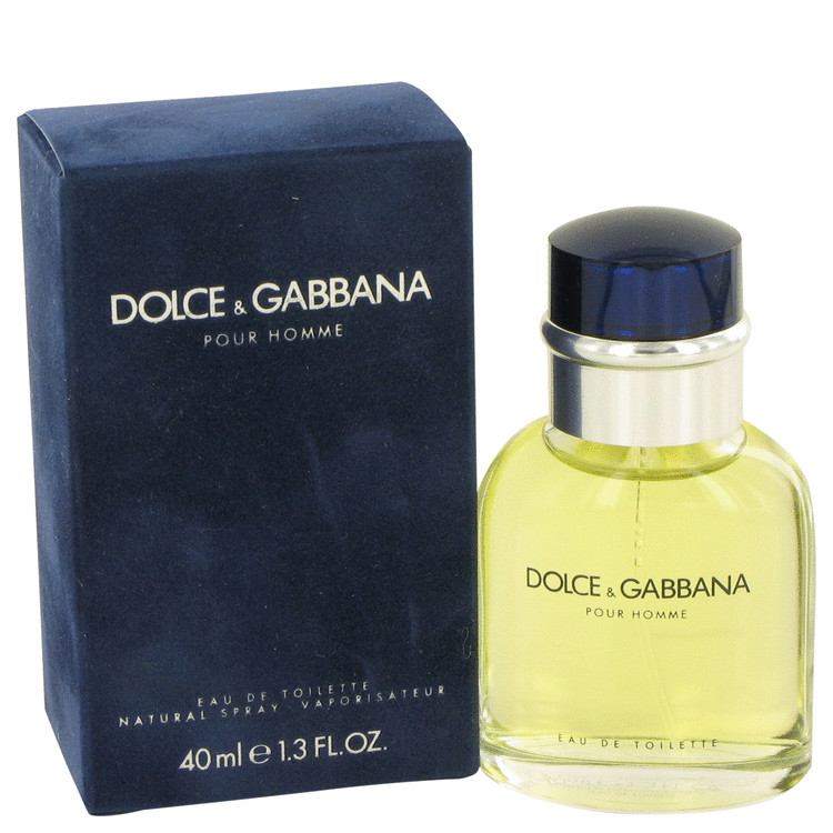 Dolce & Gabbana Cologne by Dolce & Gabbana 1.3 oz EDT Spay for Men Spray