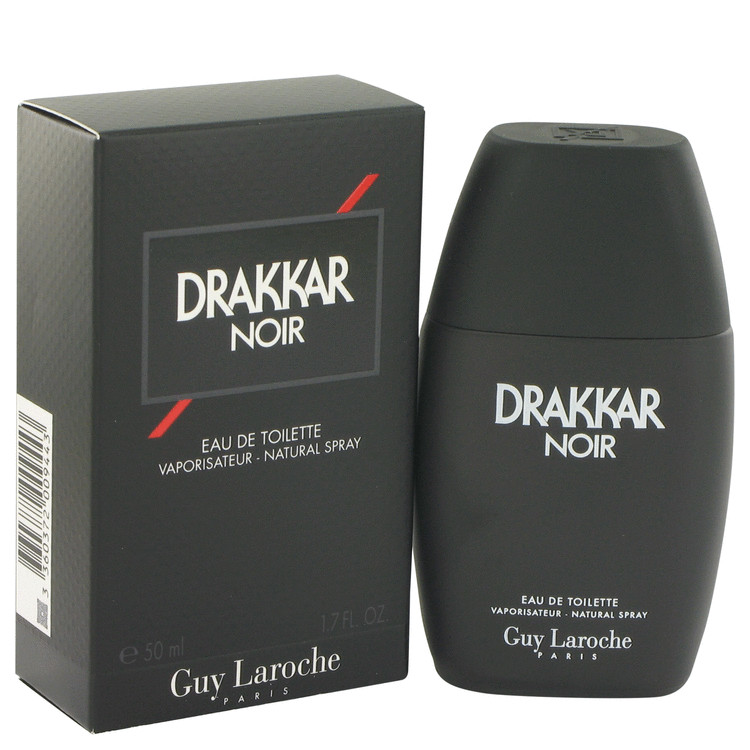 Drakkar Noir Cologne by Guy Laroche 50 ml Eau De Toilette for Men