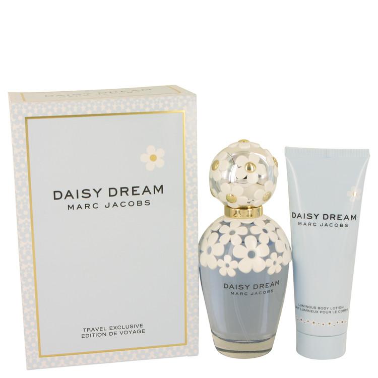Daisy Dream by Marc Jacobs for Women Gift Set -- 3.4 oz Eau De Toilette Spray + 2.5 oz Body Lotion