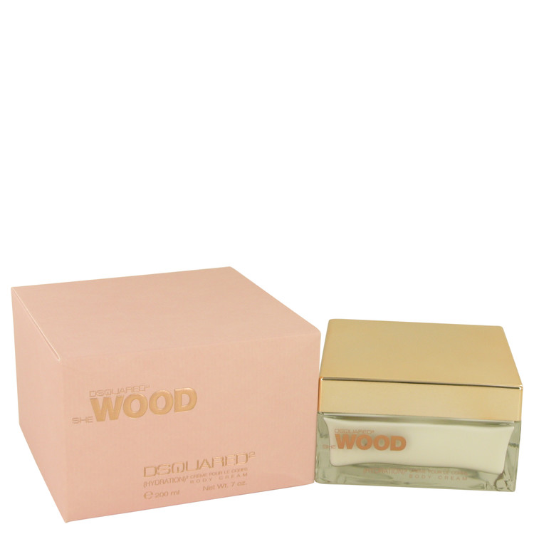 She Wood Body Cream by Dsquared2 7 oz Body Cream for Women