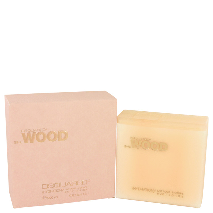 She Wood Body Lotion by Dsquared2 6.8 oz Body Lotion for Women