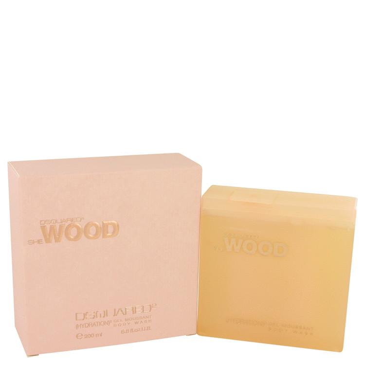She Wood Shower Gel by Dsquared2 6.8 oz Shower Gel for Women