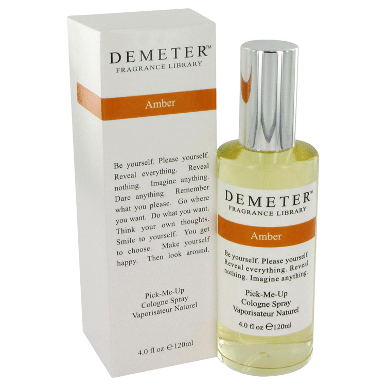 Demeter Amber by Demeter Cologne Spray 4 oz