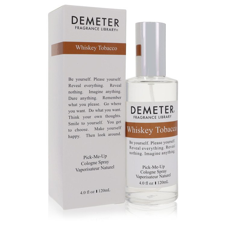 Demeter Perfume 4 oz Whiskey Tobacco Cologne Spray for Women