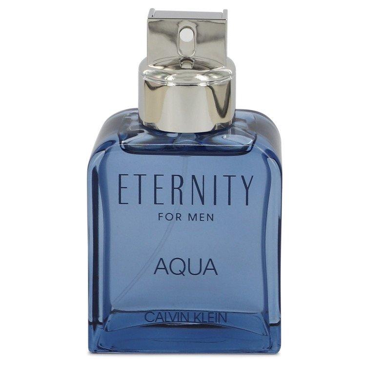 Eternity Aqua by Calvin Klein Eau De Toilette Spray (Tester) 3.4 oz