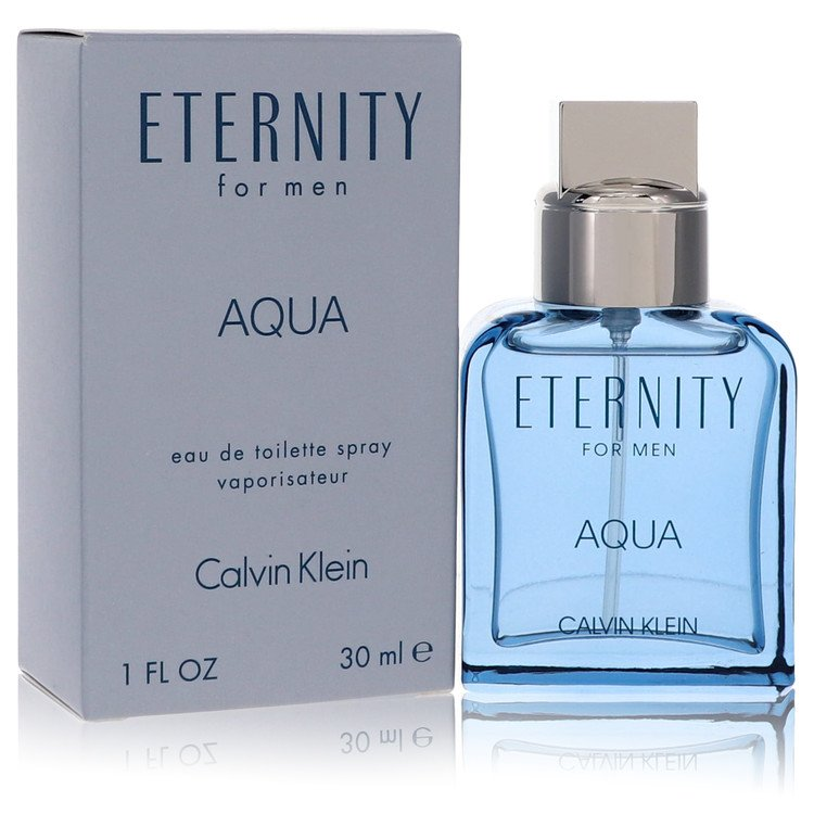Eternity Aqua Cologne by Calvin Klein 1 oz EDT Spay for Men