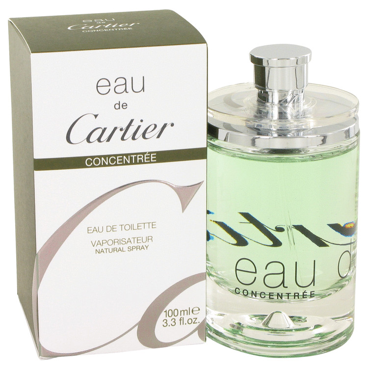 Eau De Cartier Cologne 100 ml Eau De Toilette Spray Concentree (Unisex) for Men