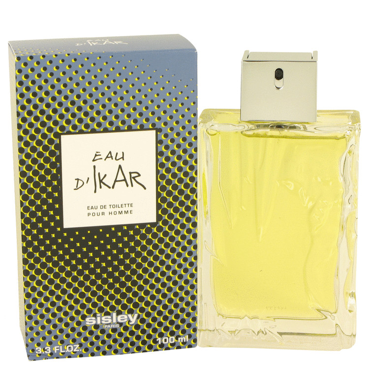 Eau D'ikar Cologne by Sisley 100 ml Eau De Toilette Spray for Men