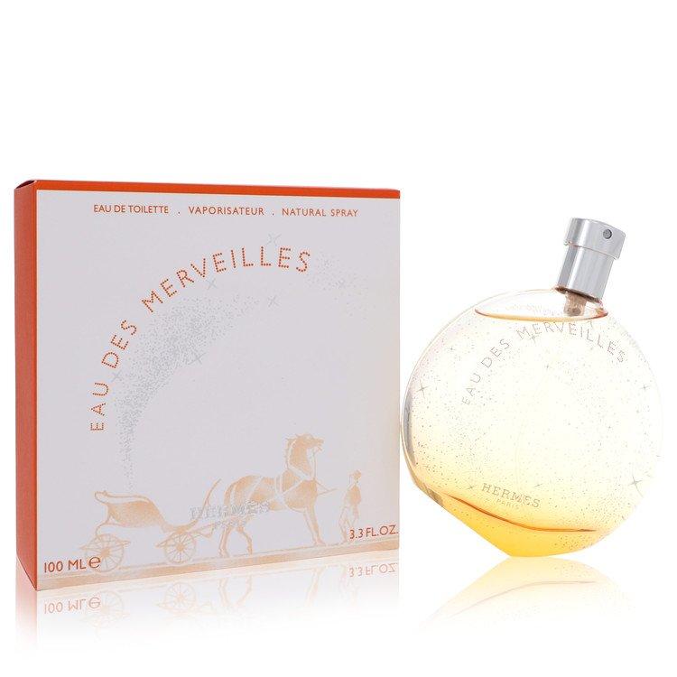 Eau Des Merveilles by Hermes for Women Eau De Toilette Spray 3.4 oz