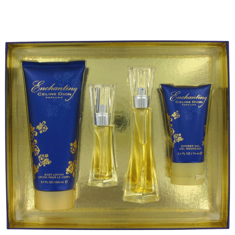 Enchanting Gift Set -- Gift Set - 1 oz Eau De Toilette Spray + 2.5 oz Body Loion + 2.5 oz Shower Gel for Women