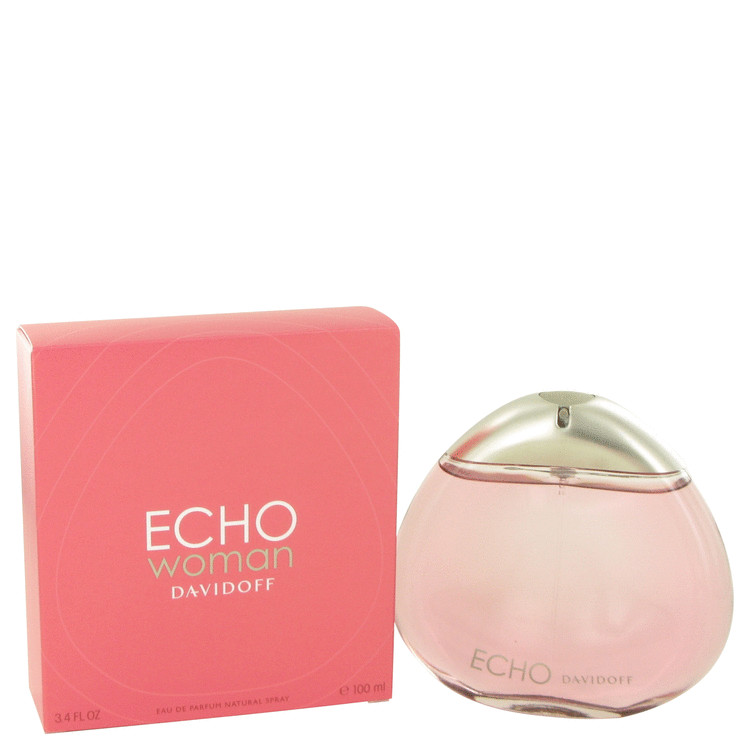 Echo Perfume by Davidoff 100 ml Eau De Parfum Spray for Women