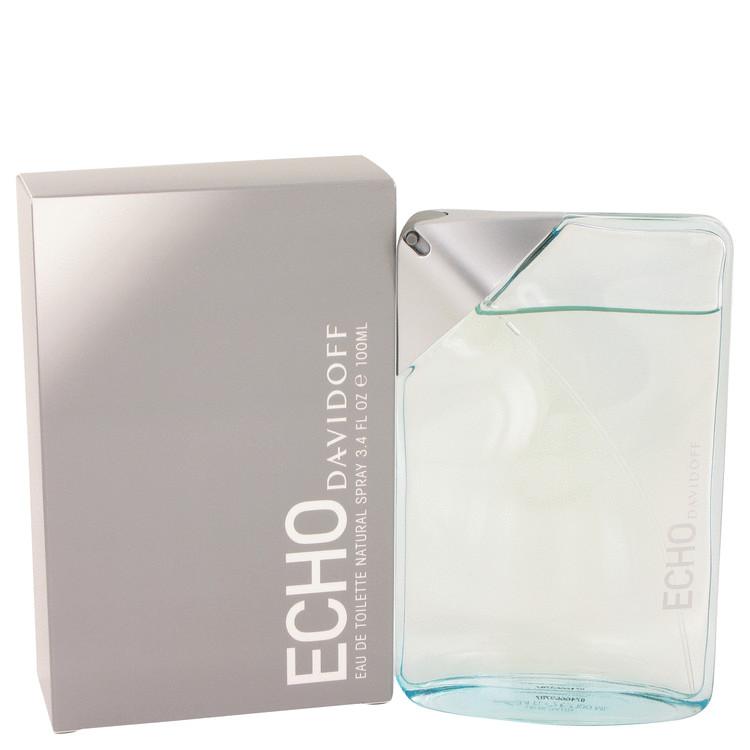 Echo Cologne by Davidoff 100 ml Eau De Toilette Spray for Men