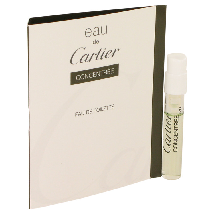 EAU DE CARTIER by Cartier for Men Vial Concentree (sample) .05 oz