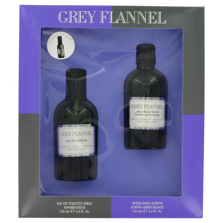 Eau De Grey Flannel Gift Set -- Gift Set - 4 oz Eau De Toilette Spray + 4 oz After Shave for Men