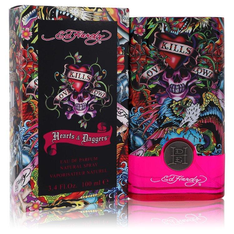 Ed Hardy Hearts & Daggers Perfume 100 ml EDP Spay for Women