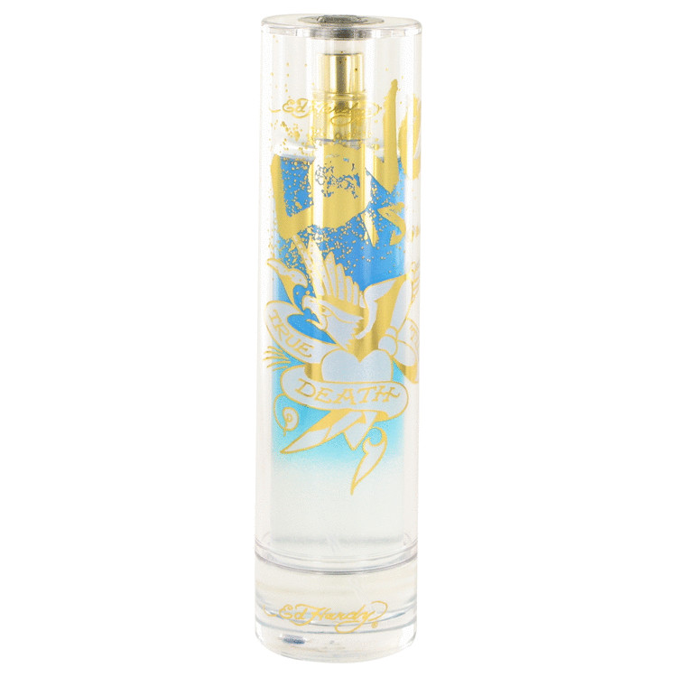 Ed Hardy Love Is Cologne 3.4 oz EDT Spray (unboxed) for Men