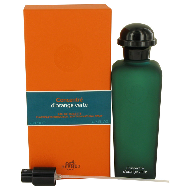 EAU D'ORANGE VERTE by Hermes for Men Eau De Toilette Spray Concentre (Unisex) 6.7 oz