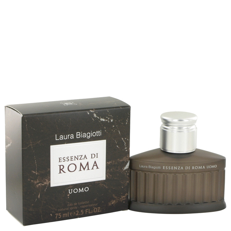 Essenza Di Roma Uomo Cologne by Laura Biagiotti 75 ml EDT Spay for Men