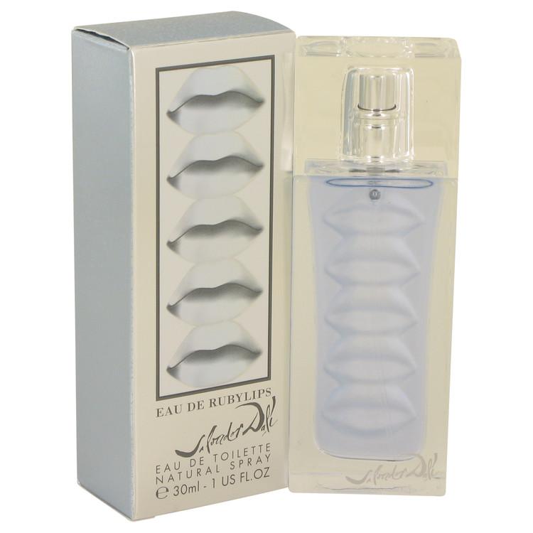 Eau De Ruby Lips Perfume by Salvador Dali 1 oz EDT Spay for Women