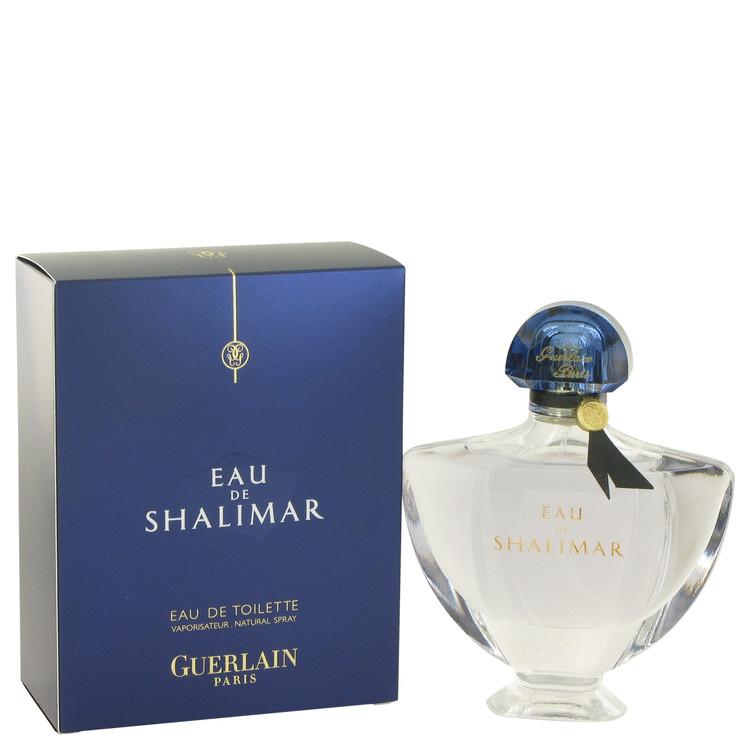 Eau De Shalimar by Guerlain Eau De Toilette Spray (New Packaging) 3 oz