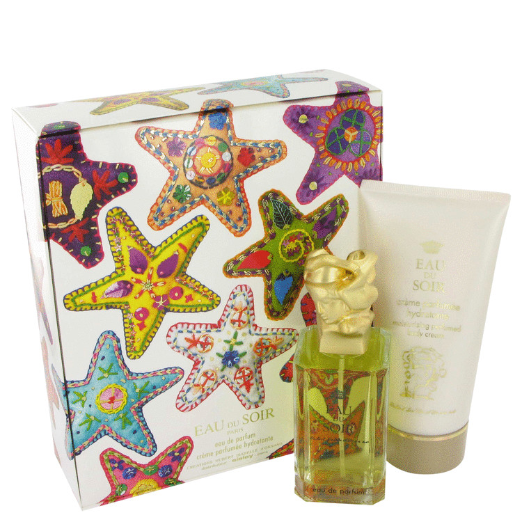 Eau Du Soir Gift Set -- Gift Set - 3.3 oz Eau De Parfum Spray + 5.1 oz Moisturizing Body Cream for Women