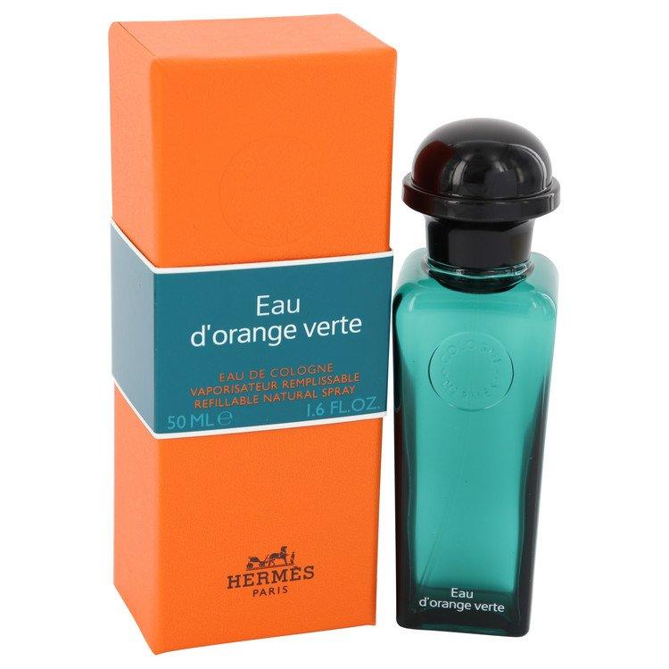 Eau D'orange Verte Cologne 50 ml Eau De Toilette Spray Concentre Refillable (Unisex) for Men
