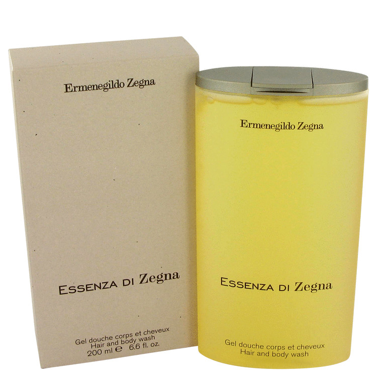 Essenza Di Zegna Shower Gel 6.7 oz Hair & Body Wash/Shower Gel for Men