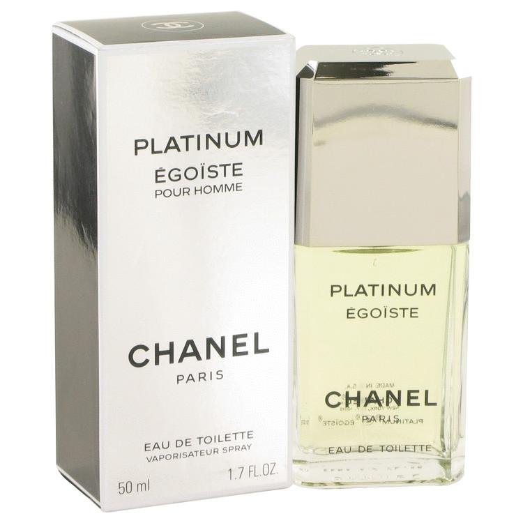 Egoiste Platinum Cologne by Chanel 50 ml Eau De Toilette Spray for Men