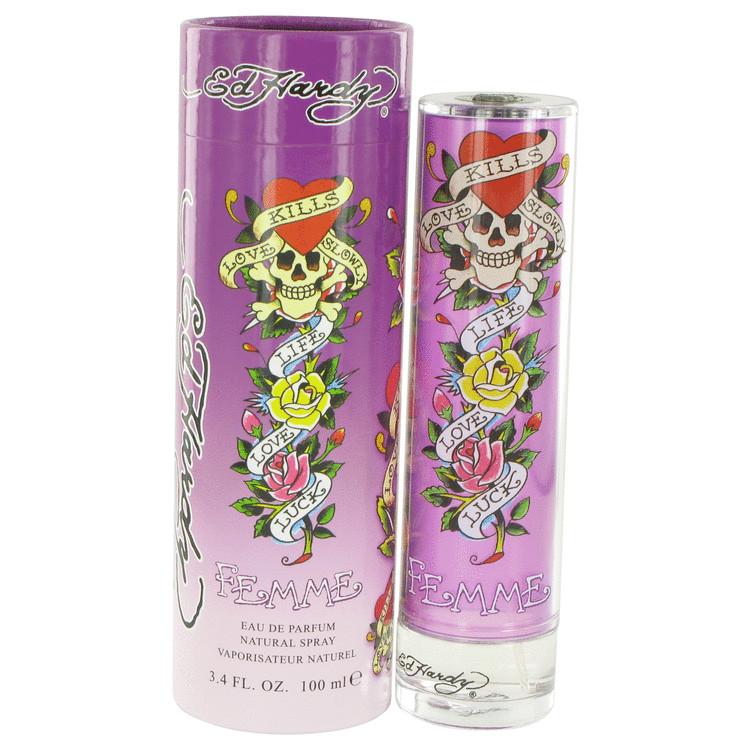 Ed Hardy Femme Perfume by Christian Audigier 100 ml EDP Spay for Women