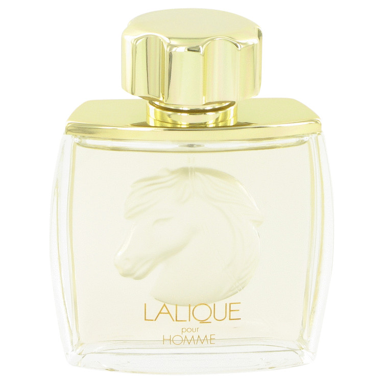Lalique Equus Cologne 2.5 oz EDP Spray (Tester) Horse Head for Men