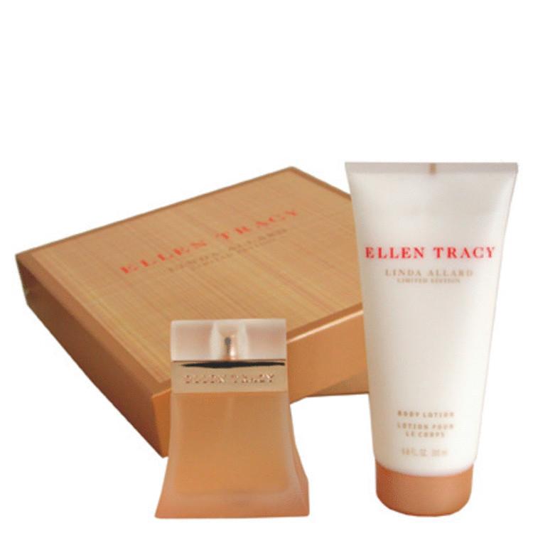 Ellen Tracy Gift Set -- Gift Set - 1.7 oz Eau De Parfum Spray + 6.8 oz Body Lotion for Women