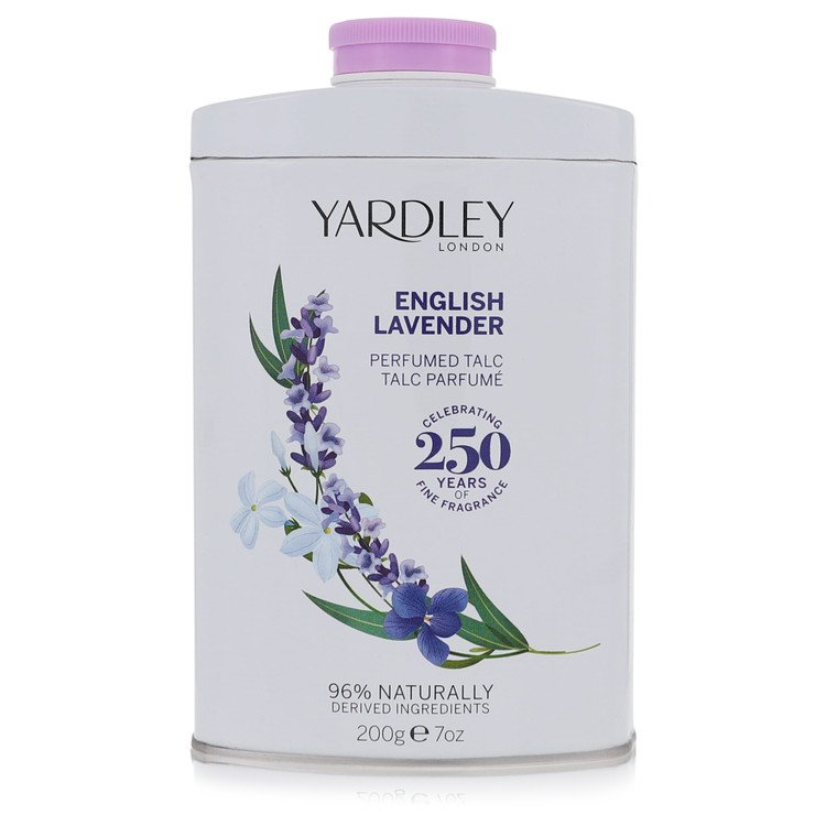 English Lavender by Yardley London –  Talc 7 oz 207 ml for Women
