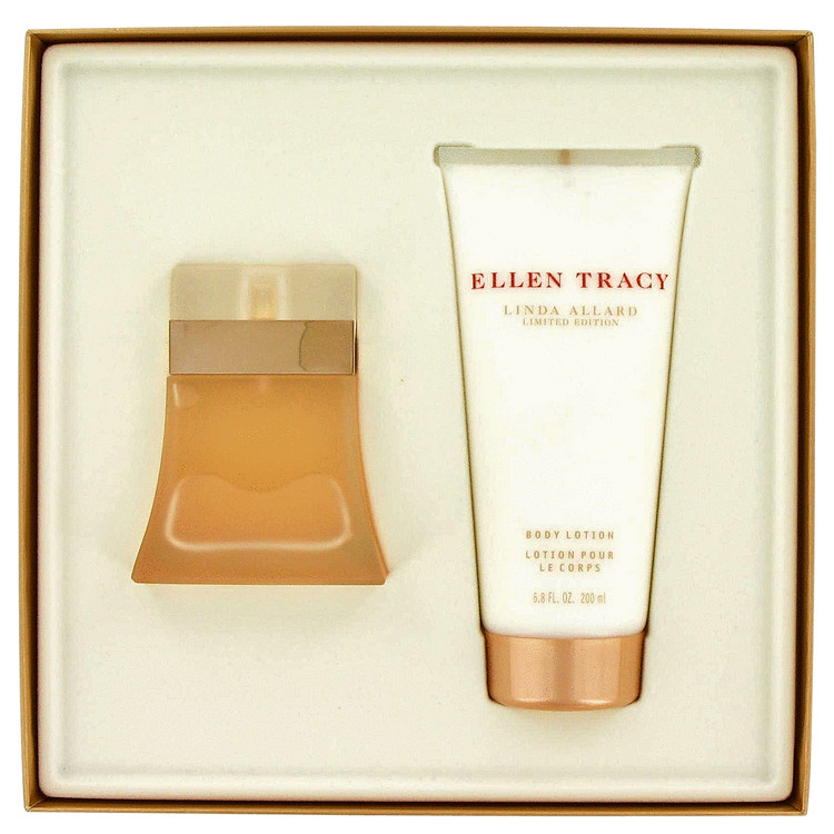 Ellen Tracy Gift Set -- Gift Set - 1.7 oz Eau De Parfum (Linda Allard Limited Edition) + 6.8 oz Body Lotion for Women