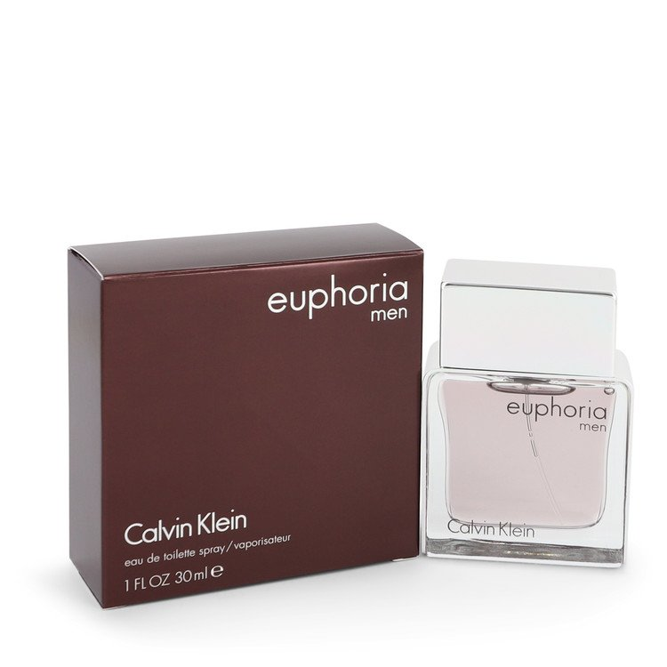 Euphoria Cologne by Calvin Klein 1 oz EDT Spray for Men