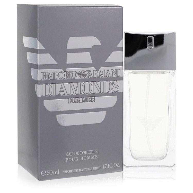 Emporio Armani Diamonds by Giorgio Armani for Men Eau De Toilette Spray 1.7 oz