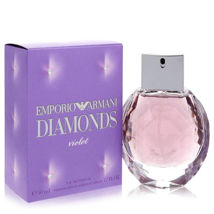 Emporio Armani Diamonds Violet by Giorgio Armani – Eau De Parfum Spray 1.7 oz (50 ml) for Women