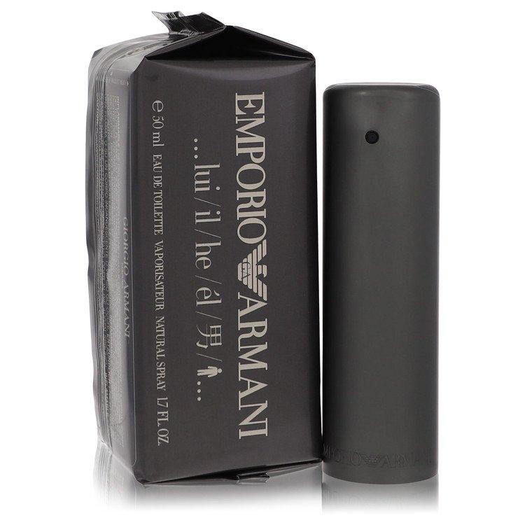 EMPORIO ARMANI by Giorgio Armani for Men Eau De Toilette Spray 1.7 oz